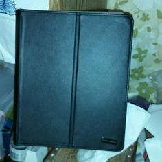"""Tablet cover Black tablet cover can hold 10"""" tablet only used 2 times really did not fit my tablet. Lifeworks Accessories Tablet Cases"""