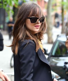 Dakota Johnson's New Haircut Has Us Excited For The Next Fifty Shades+#refinery29