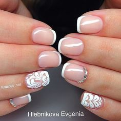 Маникюр №2719 - самые красивые фото дизайна ногтей. Идеи рисунков на ногтях на любой вкус. Будь самой привлекательной!