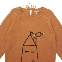 Emile et Ida Hand-Embroidered House Pullover-product
