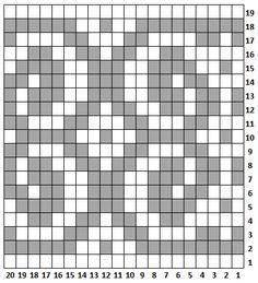 neulekaavio Fair Isle Chart, Fair Isle Knitting, Knitting Patterns, Projects To Try, Weaving, Tapestry, Stitch, Crafts, Fabrics