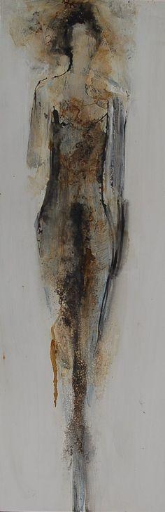 """Felice Sharp - """"Pollen"""" 36x12 $2,900"""