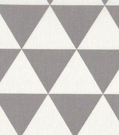 45'' Home Essentials Fabric-  Gray Diamond
