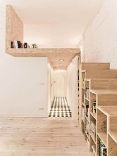 Particle Board Shelving Micro Apartment