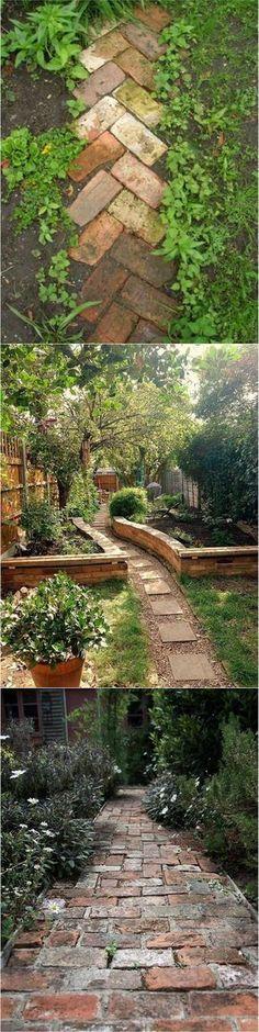#Gardens #pathway and #gardens #landscapes #smallbackyardlandscapediy