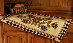 Star Flower Table Runner Quilt | Pine Valley Quilts