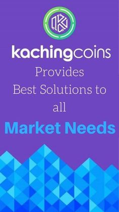 Kachingcoins provides best Solutions to all Market Needs  - Accountability - Transparency & Trust - Safety, Security & Speed - Easier Deposit and Withdrawal Methods  #kaching #kachingcoins #kachingcoin #ico #preicosale #blockchain #blockchain #crypto #cryptocurrency  #ether #ethereum #KAC #goldmansachs