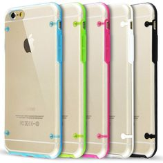 "Ultra Thin Clear Crystal Soft TPU Hard Case Cover For Apple iPhone 6 Plus 5.5"" #UnbrandedGeneric"