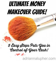 My Ultimate Money Makeover Guide! Are you looking for a down and dirty guide to help you build a budget?  I've got 5 steps to get your budget built and on track. #money #budget #saving #personalfinance