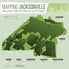 Mind blown! The map really puts the size of #Jacksonville in perspective. This tells me there's many, many people in Jax who may need my help in buying or selling their #realestate! I'm happy to help! Visit my website @ HomesByJaxBeaches.com to request a free market evaluation or to search for any property in Jacksonville today! #kellerwilliams #yourrealtor