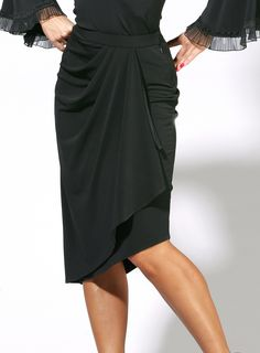 Zdenka Arko Latin Dance Skirt S1201 | Dancesport Fashion @ DanceShopper.com