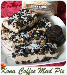 Kona Coffee Mud Pie - ILoveHawaiianFoodRecipes