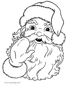 Santa Coloring Pages, Easter Coloring Pages, Coloring Pages To Print, Coloring For Kids, Coloring Pages For Kids, Coloring Books, Colouring Sheets, Adult Coloring, Christmas Coloring Sheets