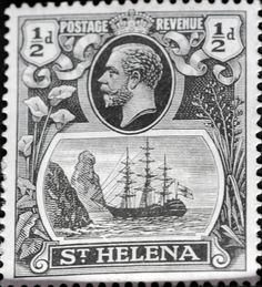 St. Helena (14) 1923 -1937 King George V and Ships