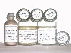 Spa Gift Set/ Organic Skin Care. Bridesmaid Gift Set by ELUCX, $50.00