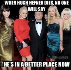 When Hugh Hefner dies