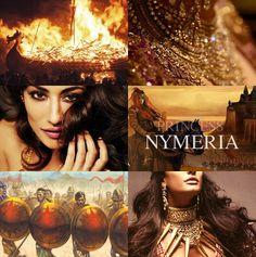 Princess Nymeria of Ny Sar, wife of Mors Martell.