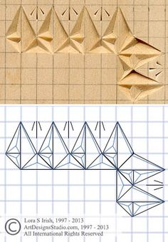 chip carving grid pattern