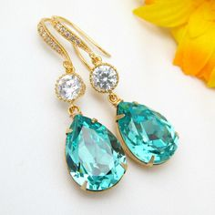 Hey, I found this really awesome Etsy listing at http://www.etsy.com/listing/153305827/teal-blue-earrings-swarovski-crystal