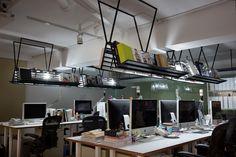 Дизайн интерьера офиса компании Ppaper
