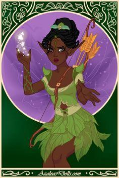 Magic Elf #Disney #Princess #SommerTime #DollDivine #Tiana #PrincessAndTheFrog