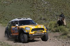Old school Argentina meets MINI ALL4 Racing at Dakar 2013.