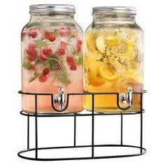 3-Piece Exeter Beverage Dispenser Set