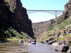 I've been to one of the highest bridges in America, the Rio Grande Gorge Bridge.