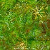 Sumatra Batiks ll - Dotted Foliage Green Yardage