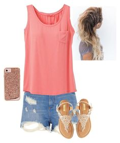 """""""Untitled #1513"""" by addiegirl15 ❤ liked on Polyvore featuring River Island, prAna, Qupid and Case-Mate"""