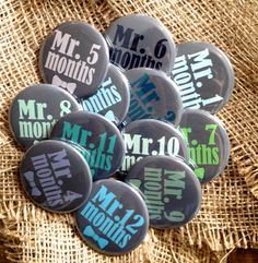 Watch Me Grow / Clipback Buttons / Measure your by Bisforbuttons, $18.00...LOVE