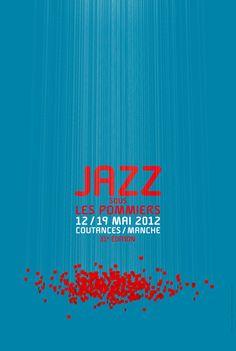 le jardin graphique, visuel Jazz sous les pommiers 2012