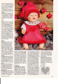 Album Archive - Dukketøj til Baby Born 2 - Ingelise Baby Boy Knitting Patterns, Baby Knitting, Toddler Dolls, Baby Dolls, Doll Clothes Patterns, Doll Patterns, Baby Doll House, Reborn Dolls Silicone, Baby Born Clothes