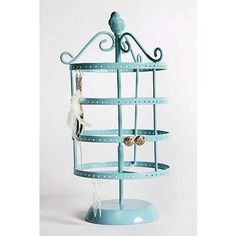 Good earring display. Urban outfitters rotating birdcage