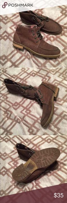 Lounge Boot Lounge Brown Boot in...Size 9 Lounge Shoes Boots