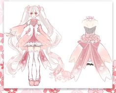 Anime Lolita Drawing Book Fresh isabell S Dress for Alexandria S Birthday Party Drawing Anime Clothes, Dress Drawing, Fashion Design Drawings, Fashion Sketches, Game Costumes, Cosplay Costumes, Mery Chrismas, Miku Cosplay, Anime Dress