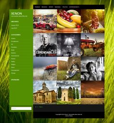 Xenon - Free Photography WordPress Template Free Html Website Templates, Html Templates, Wordpress Template, Photography Templates, Free Photography, Web Design, Graphic Design, Premium Wordpress Themes