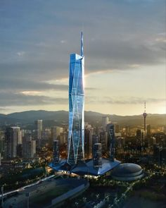 КУАЛА-ЛУМПУР | KL118 Tower | 610 м | 118 м - SkyscraperCity