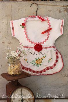 Pince à linge sac Vintage Style robe  par SweetMagnoliasFarm, $38.50