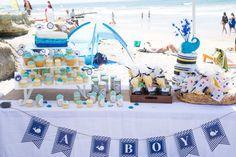 beach baby shower |
