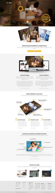 Vellum - Responsive WordPress Theme