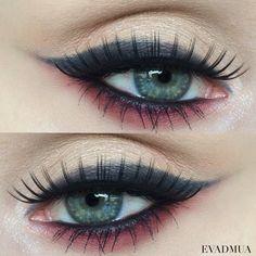 Used the Kat Von D beauty Shade+Light eye palette. And the Zoeva Rodeo Belle eye palette. #kvdlook