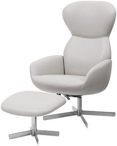le confortable fauteuil inclinable athena un design moderne par boconcept deco pinterest. Black Bedroom Furniture Sets. Home Design Ideas