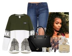 """""""Untitled #365"""" by laiixo ❤ liked on Polyvore featuring MICHAEL Michael Kors, adidas Originals and Marc by Marc Jacobs"""