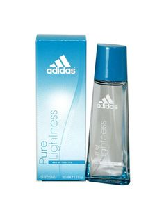 Adidas Pure Lightness Perfume by Adidas For Women. he notes include melon, apple, aquatic notes, jasmine, magnolia, violet, lily of the valley, and peach.