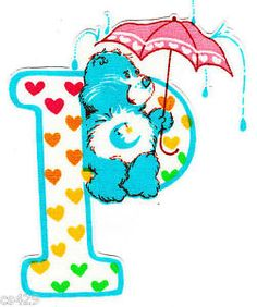 ❤️Care Bears and Friends ~ The Letter P