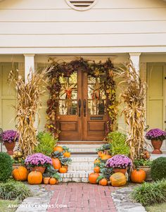 Fall Porch DIY #2: Jana Hunter