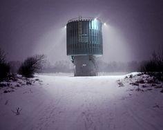 The Praga waterworks water intake station draws water from under the Vistula. mpdrolet: Agnieszka Rayss
