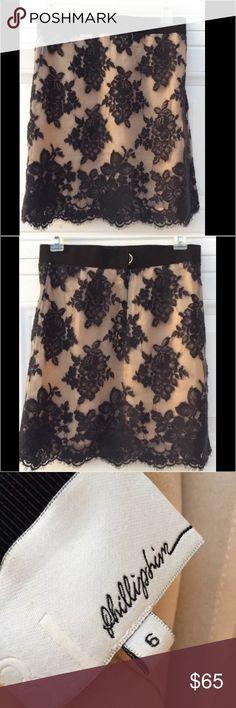 "3.1 Phillip Lim Lace Overlay Skirt Mint, no flaws Elastic waist Measured Flat 14"" waist 18"" long 3.1 Phillip Lim Skirts Mini"