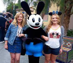 Dreams do come true  OSWALD!!!!  #Disneyland60 #diamondcelebration #disney #Disneyland #dlr #instadisney #usa #travel #california #ca #latergram #dca #disneyaddict by bekabretherton